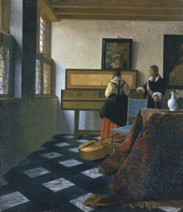 Schilderij van Vermeer